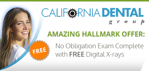 California Dental Group's amazing hallmark offer