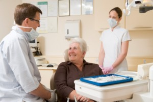 Only 60 Percent of Seniors Visit the Dentist
