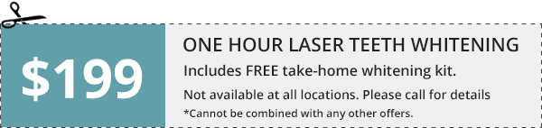 One Hour Laser Teeth Whitening
